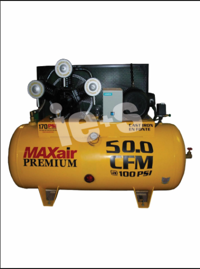 Eagle 103120H2-MS208 Horizontal Air Compressor w/ Mag Starter