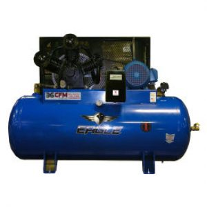 Eagle 103120H2-MS230 Horizontal Air Compressor w/ 460 volt