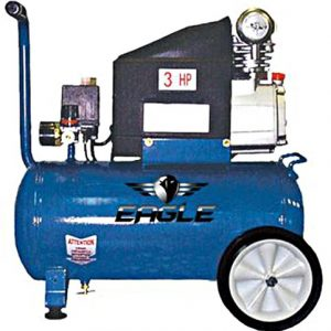 Eagle 653036L Portable Air Compressor Pull Style
