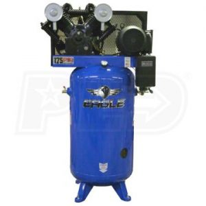 Eagle 7180V2-MS-V4 Upright 7.5 Air Compressor 28 CFM