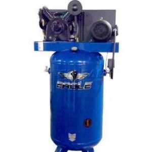 Eagle 7580V2-CS-V4 Upright Air Compressor W/ 575 Volt Power