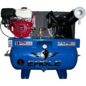 Eagle 9G30TRKE Truck Mount Air Compressor Honda Powered