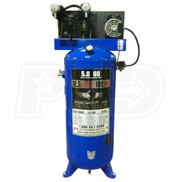 Eagle C4160V1 Upright Air Compressor 12.5 CFM