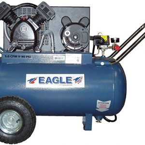 Eagle P3120H1 Horizontal Air Compressor w/ belt drive