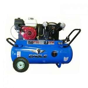 Eagle P55G25H1 Portable Air Compressor Honda Power