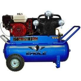 Eagle P90GE25H1 Portable Air Compressor 9 HP Honda Engine