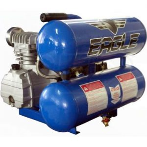 Eagle TS2018L Twin Stack Air Compressor Oil Lubed