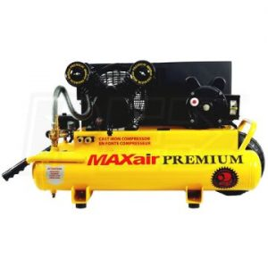 Eagle TT318E-DV Wheel Barrow Air Compressor W Twin Tank