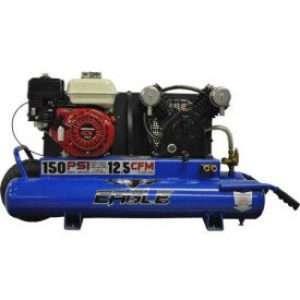 Eagle TT55G Wheelbarrow Air Compressor W/ Twin Tank