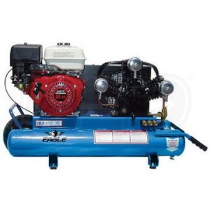 Eagle TT90G Wheelbarrow Air Compressor Honda Powered