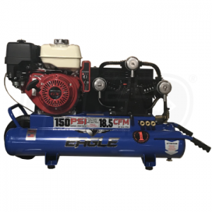 Eagle TT90GE Wheelbarrow Air Compressor Electric Start