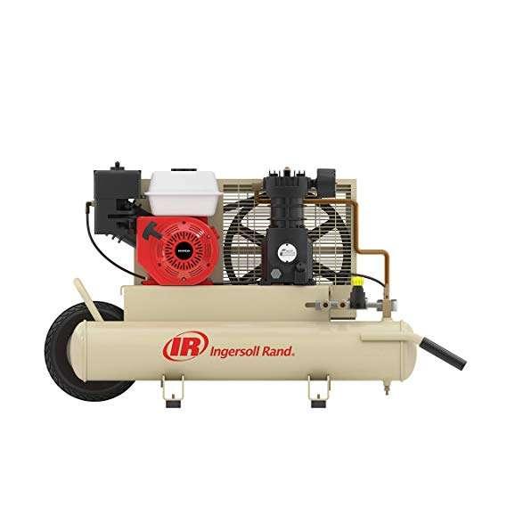 Ingersoll Rand SS3J5.5GH-WB Wheelbarrow Air Compressor Honda Power