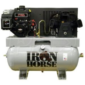 Iron Horse IH8G30TRKE-H-BS Truck Mount Compressor B&S Power