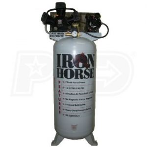 Iron Horse IHD7160V1 Upright Air Compressor 7 HP