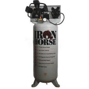 Iron Horse IHD7180V1 Upright Air Compressor 7 HP
