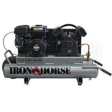 Iron Horse Ihtt60g Kohler Air Compressor W Twin Tank
