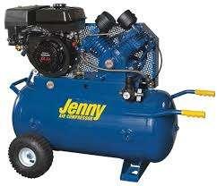Jenny C6HGA-30P Portable Air Compressor