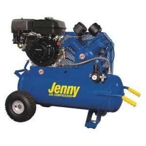 Jenny G9HGA-17P Portable Air Compressor 16.2 CFM