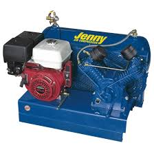 Jenny J11HGA-SM Skid Mount Air Compressor