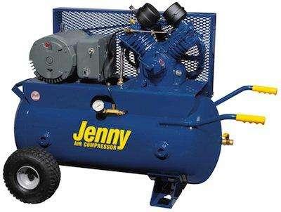 Jenny J5A-30P Portable Air Compressor 24 CFM
