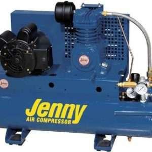 Jenny K15A-8P Portable Air Compressor 8 Gallon