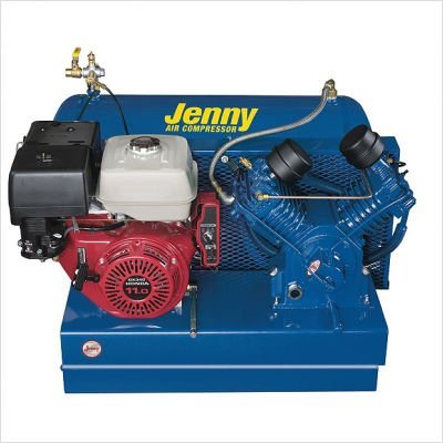 Jenny U18HGB-PT Trailer Air Compressor 41 CFM