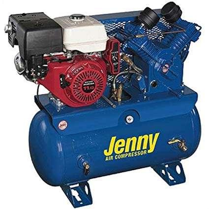 Jenny W11HGB-SM Skid Mount Air Compressor