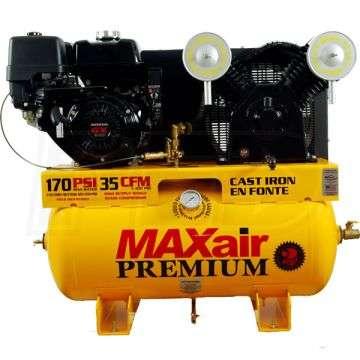 MaxAir 11G30TRKE-H-MAP Portable Air Compressor 13 HP