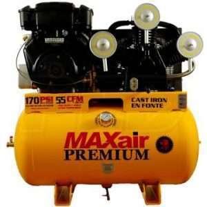 MaxAir 18G55TRKE-H-MAP Portable Air Compressor 18 HP