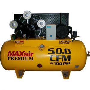 MaxAir C103120H1-MS208-MAP Horizontal Air Compressor