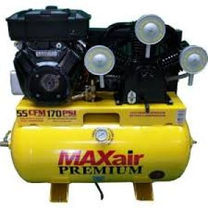 MaxAir C105120H1-CS575-MAP Horizontal Air Compressor 50 CFM