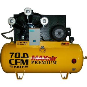 MaxAir C153120H1-MS230-MAP Horizontal Air Compressor w/ mag starter