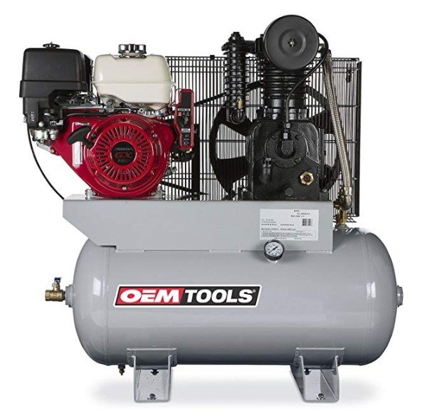 OEMTOOLS 26105 13HP 30 Gallon Honda Gas Powered Air Compressor
