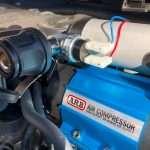 on board air compressor