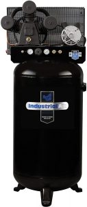 Industrial Air ILA4708065 80-Gallon Hi-Flo Single Stage Cast Iron Air Compressor