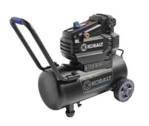 Kobalt 8-Gallon Portable Electric Horizontal Air Compressor