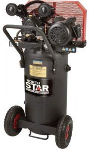 NorthStar Single-Stage Portable Electric Air Compressor - 2 HP