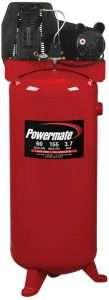 PLA3706056 Powermate 60 Gallon Cast Iron Air Compressor