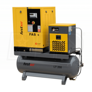 Rotary Screw Air Compressor With Dryer
