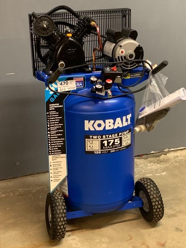 Kobalt Air Compressors Reviews [Top 10 Models]