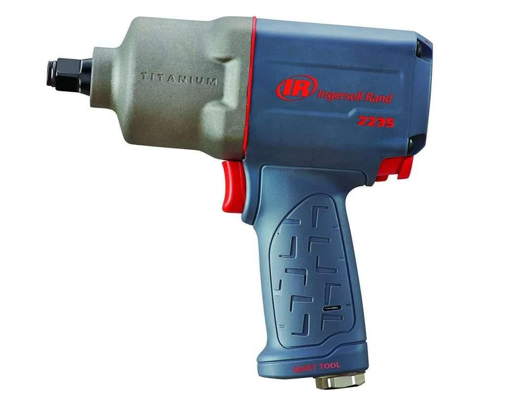 """Ingersoll Rand 2235QTiMAX 1/2"""" Quiet Titanium Air Impact Wrench"""