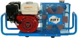 HPDAVV 100LMin 5.5-HP Scuba Tank Air Compressor