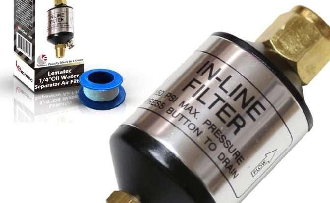 LE LEMATEC Air Compressor Filter and Water Separator