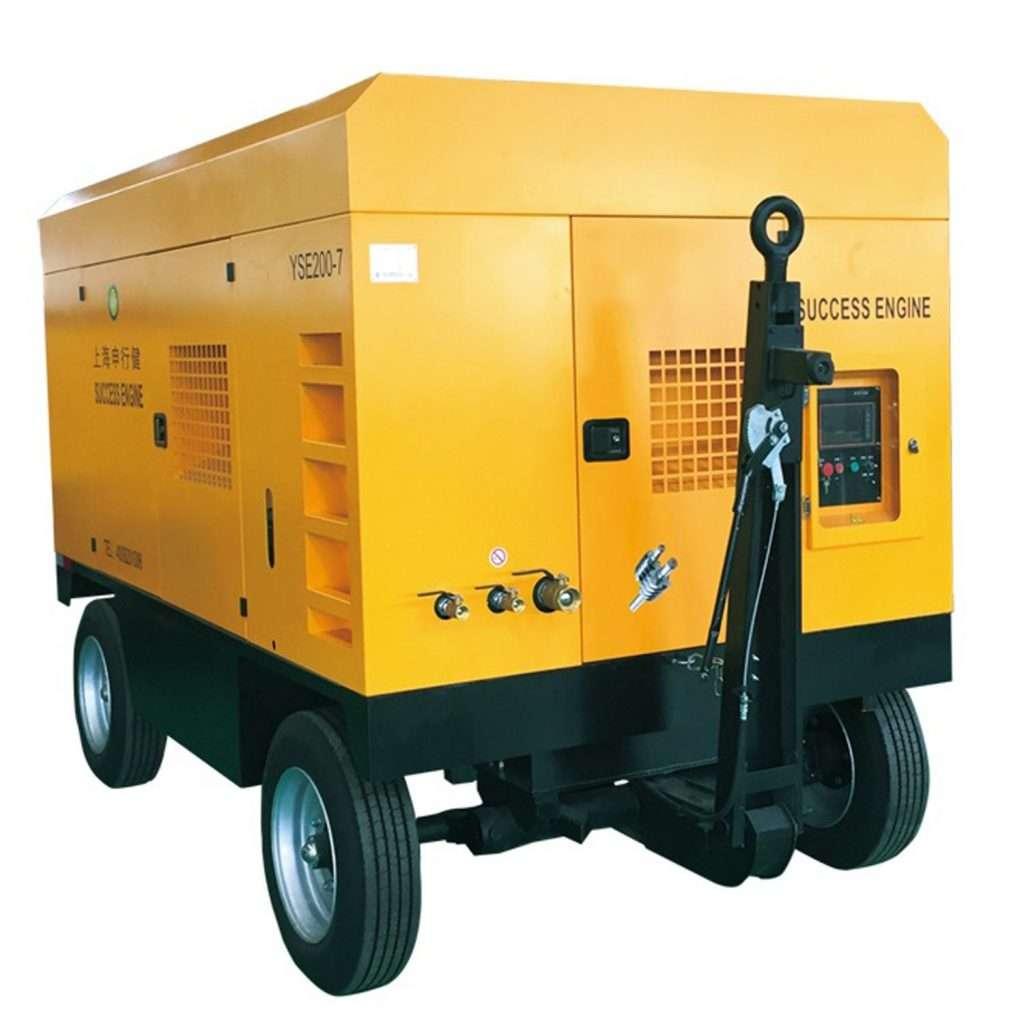 portable mobile compressor